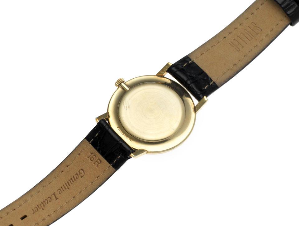 Girard Perregaux. A gold plated manual wind wristwatch Model: Seahawk