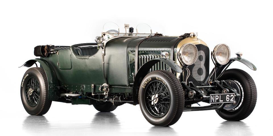 1930 Bentley 4½-Litre Tourer  Chassis no. PB3528 Engine no. SL3057