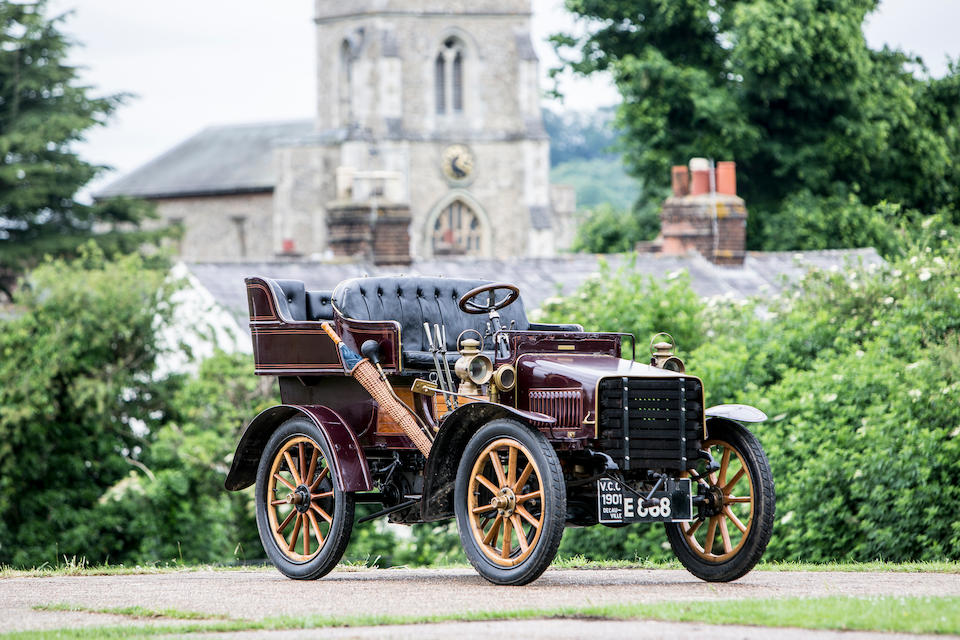 1901 Decauville 8 1/2 HP Twin-Cylinder Four-Seat Rear-Entrance Tonneau  Chassis no. 163 (see text)