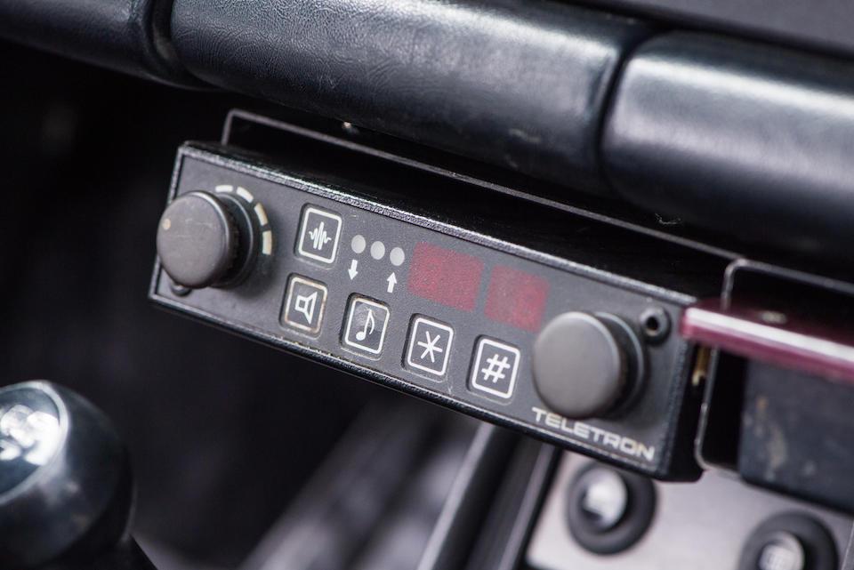 One of the very last examples delivered new to the Dutch Rijkspolitie,1989 Porsche 911 Carrera 3.2 Targa Rijkspolitie 'ALEX 12.24'  Chassis no. WPOZZZ91ZKS140968  Engine no. 63K03641