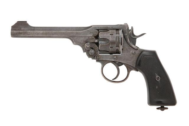A .455 Webley Mark VI Service Revolver