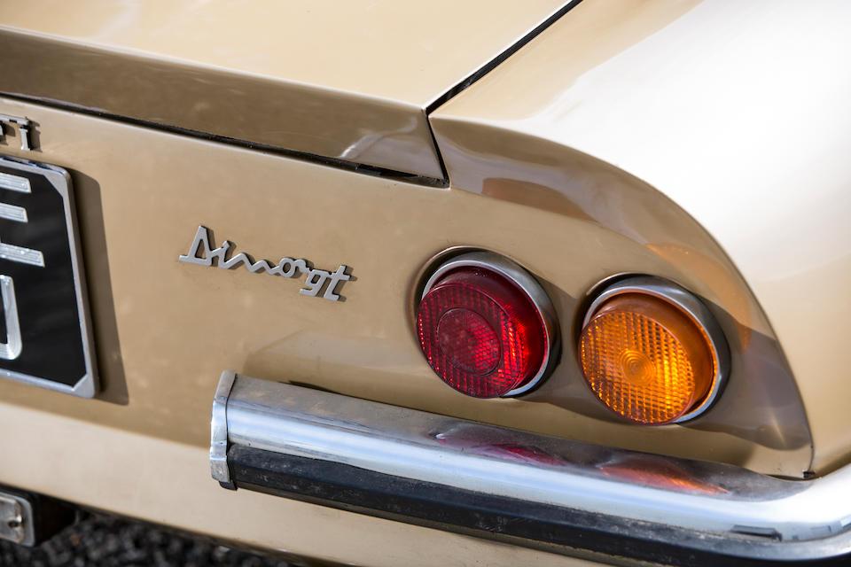 1971 Ferrari Dino 246 GT Berlinetta  Chassis no. 02114