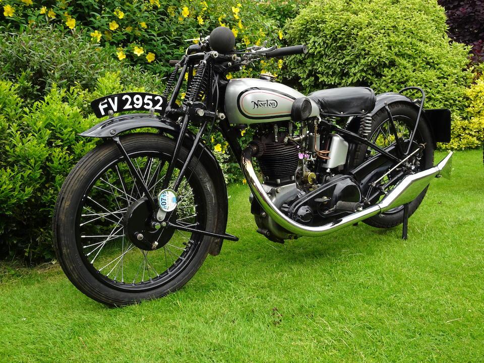 1932 Norton 490cc Model 18 Frame no. 47313 Engine no. 53897