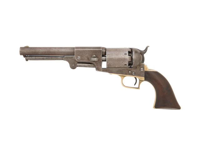 A Very Rare Martially Marked .44 Percussion Colt First Model Dragoon Revolver By Repute Belonging To Confederate Brigadier General Roswell S. Ripley