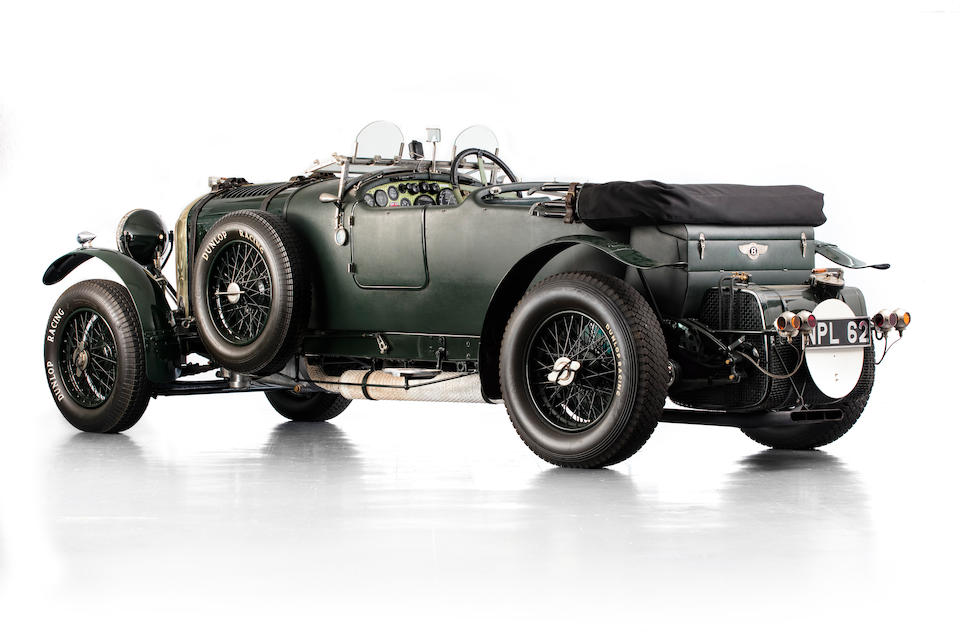 1930 Bentley 4½-Litre Tourer  Chassis no. PB3528 Engine no. SL3057
