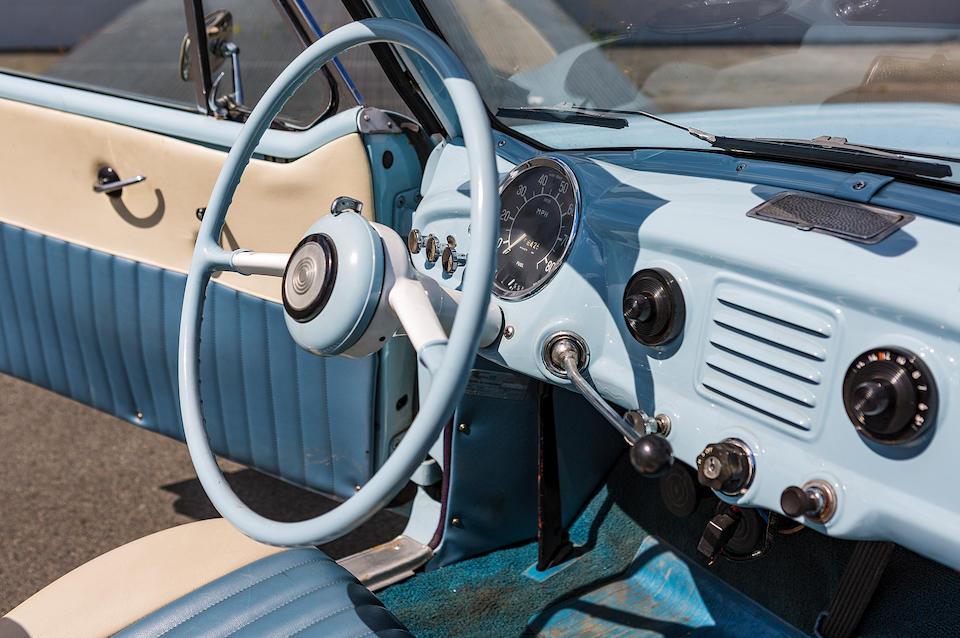 Nash  Metropolitan 1500 cabriolet 1962  Chassis no. E95521