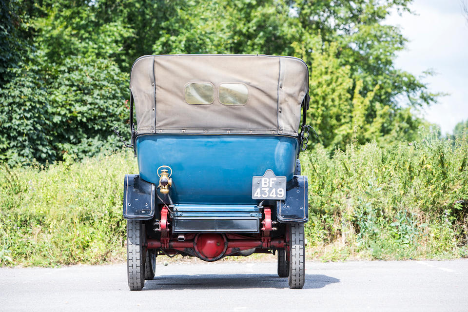 1913 Chalmers Model 17 36hp Five Passenger Tourer  Chassis no. 31215