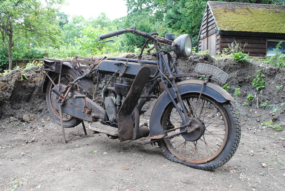 1929 Sunbeam 4¼hp Model 7 Project Frame no. to be advised Engine no. 350/20613