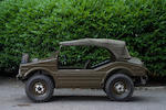1957 Porsche 597 Jagdwagen 4x4 Utility  Chassis no. to be advised