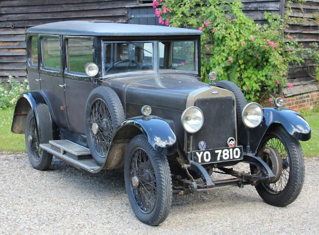 1926 Ansaldo 4CS Saloon  Chassis no. 7384