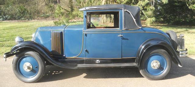 1927 Renault Monasix  Chassis no. 312815