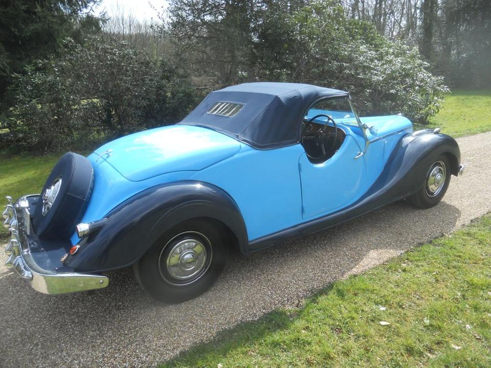 1950 Riley RMC 2½-Litre Roadster  Chassis no. 59554860
