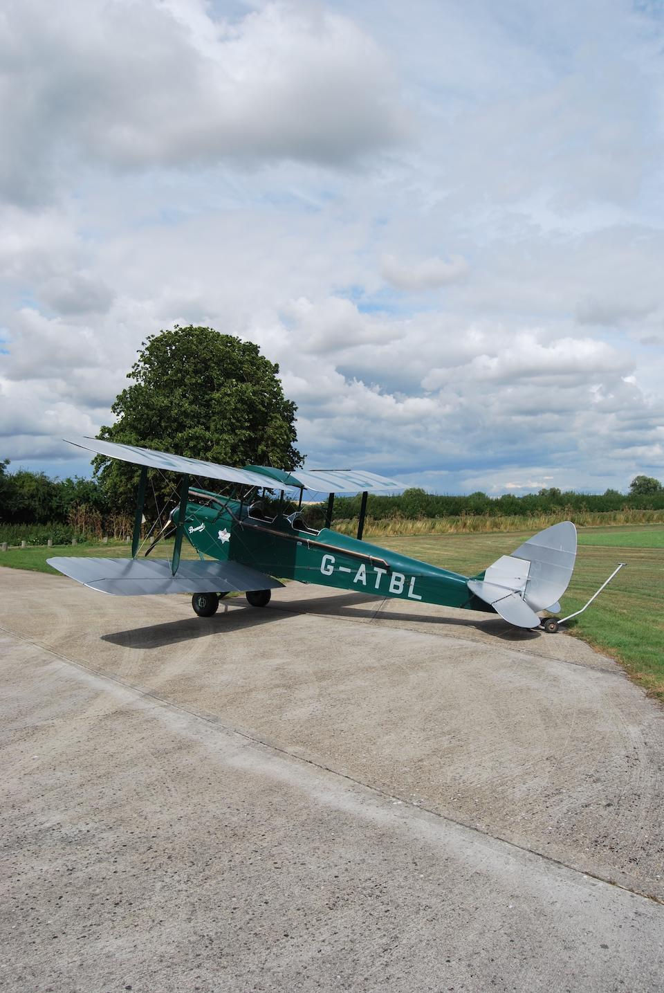 1933 De Havilland DH60G Gipsy Moth