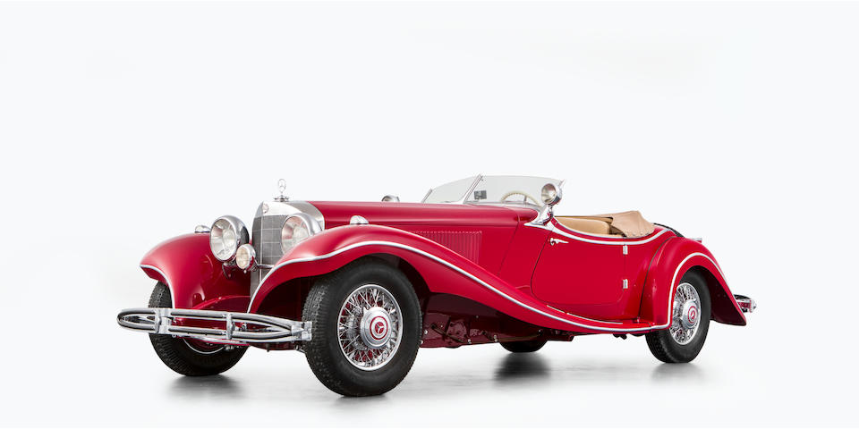 Mercedes-Benz  500 K Roadster 1935