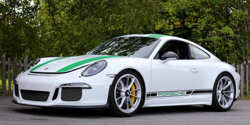'The best manual you can't buy new',2016  Porsche 911 R Type 991 Coupé  Chassis no. WPOZZZ99ZGS194097