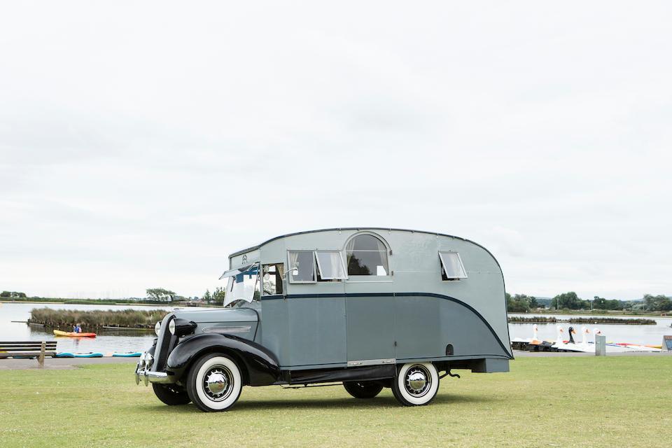 1936 Pontiac Six 4.0-Litre Motorhome  Chassis no. 6BA13333