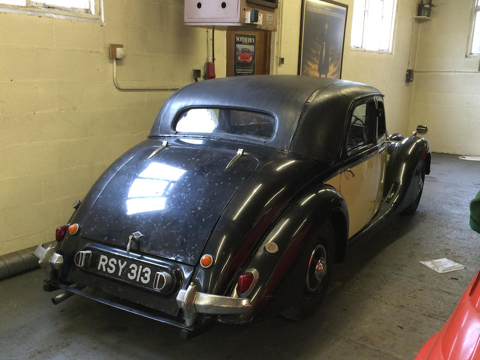 1950 Riley RMA 1½-Litre Sports Saloon Project  Chassis no. 40-S-18209
