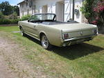 1966 Ford Mustang Convertible  Chassis no. 6R09C223611