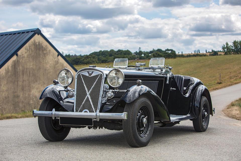 British Salmson 20/90hp 2.6-Litre roadster 1938