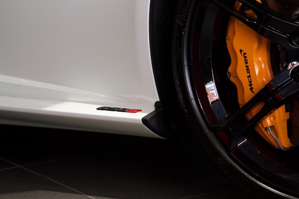 McLaren  650S « Chantilly Edition » coupé 2014