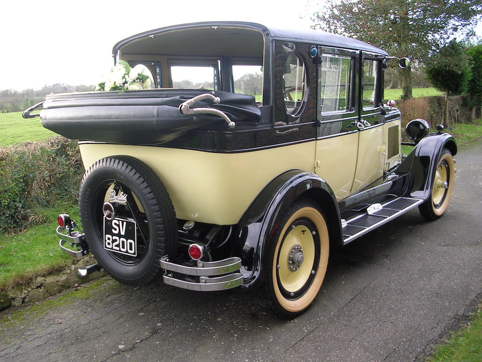1927 Peerless 3.7-Litre Six-80 Taxicab  Chassis no. A36/032