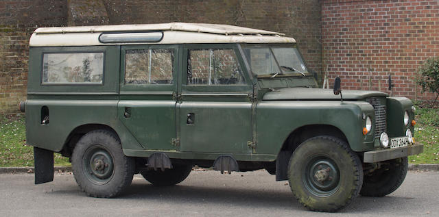 1969 Land Rover Series IIA 4x4 12-seater Estate  Chassis no. 3500118G