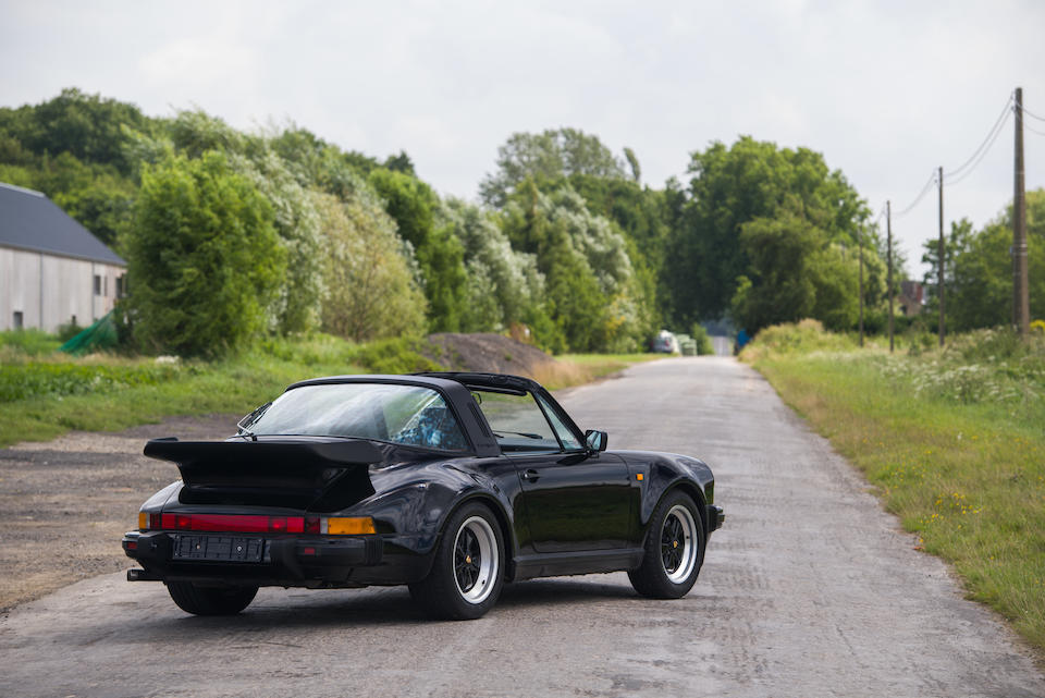 One of only 3 delivered new to Belgium,1989  Porsche 911 Turbo Type 930 Targa 5-speed  Chassis no. WPOZZZ93ZKS010073 Engine no. 67K00272