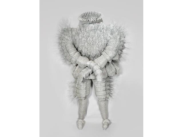 Walter Oltmann (South African, born 1960) Larva Suit 202 x 137 x 48cm (79 1/2 x 53 15/16 x 18 7/8in).