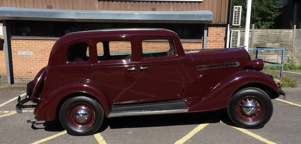 1935 Graham Model 68 Standard Six Saloon  Chassis no. 13558013