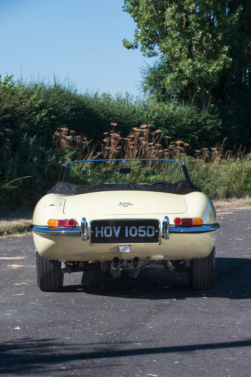1965 Jaguar E-Type Series 1 4.2-Litre Roadster  Chassis no. 1E12309