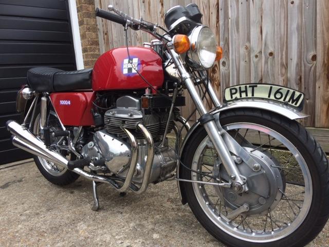 1973 Healey 1000/4 Frame no. HEA 101 Engine no. HLBT 102