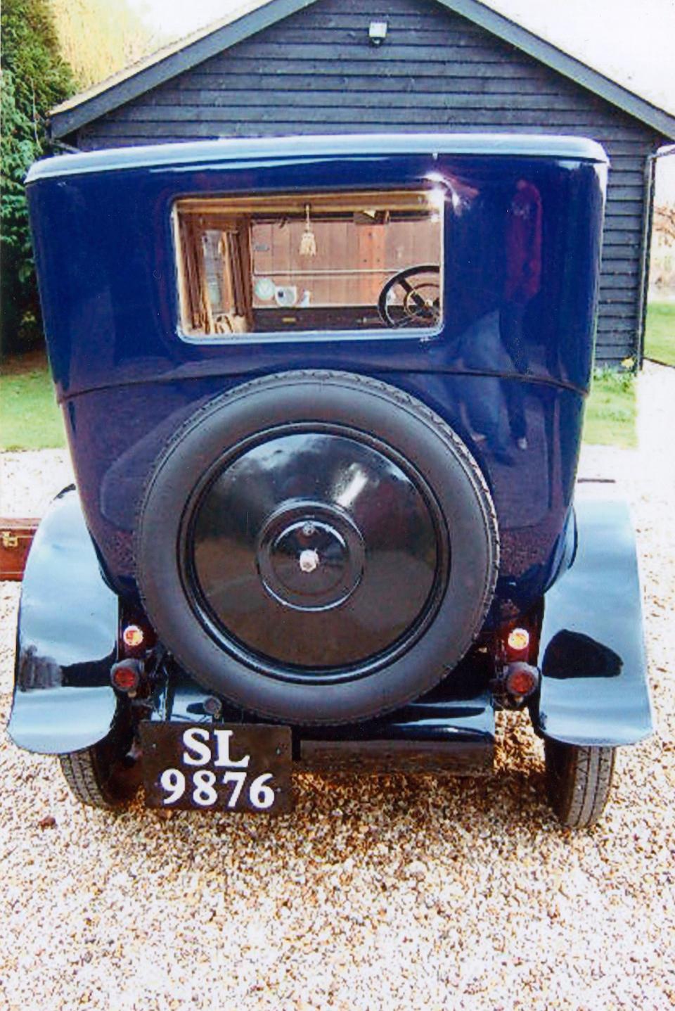 1914 Rochet-Schneider 12hp Limousine  Chassis no. 11905