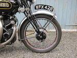 1948 Vincent-HRD 998cc Black Shadow Series-B Frame no. R3273B Engine no. F10AB/1B/1283