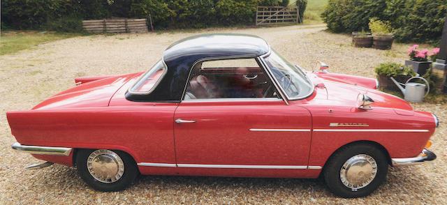 1965 NSU Wankel Spider  Chassis no. 5601389