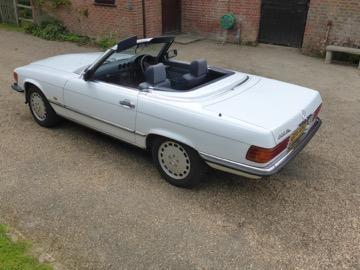 1986 Mercedes-Benz 300 SL Convertible  Chassis no. WDB1070412A047079
