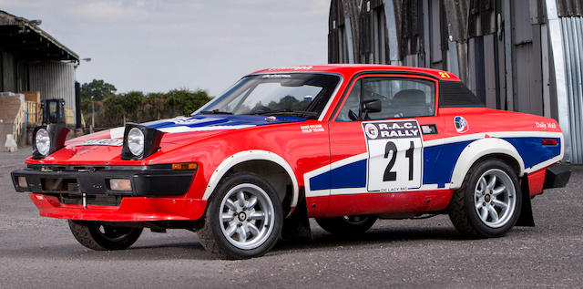 Bonhams 1979 Triumph Tr7 V8 Rally Car Chassis No Acg26381