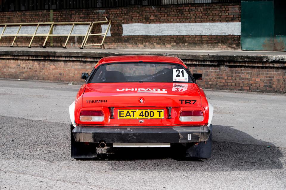 Bonhams : 1979 Triumph TR7 V8 Rally Car Chassis no  ACG26381