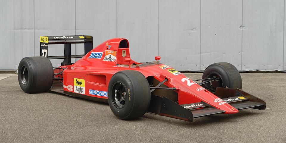 1991 Ferrari F1-91 Single-Seater (Type 642)  Chassis no. F1 91 MAT 124