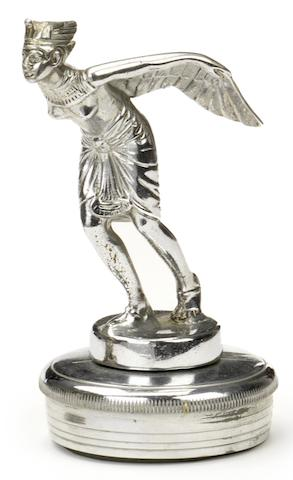 A 'Winged Pharaoh' mascot, circa 1930,