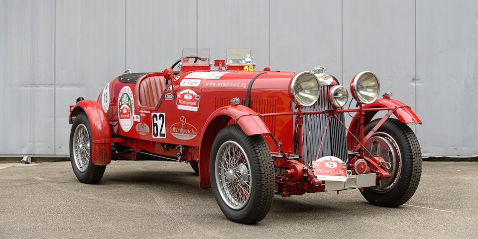 1937 Lagonda LG45 'M45 Le Mans' Replica  Chassis no. LG45/SB/12038 Engine no. LG45/194/S1