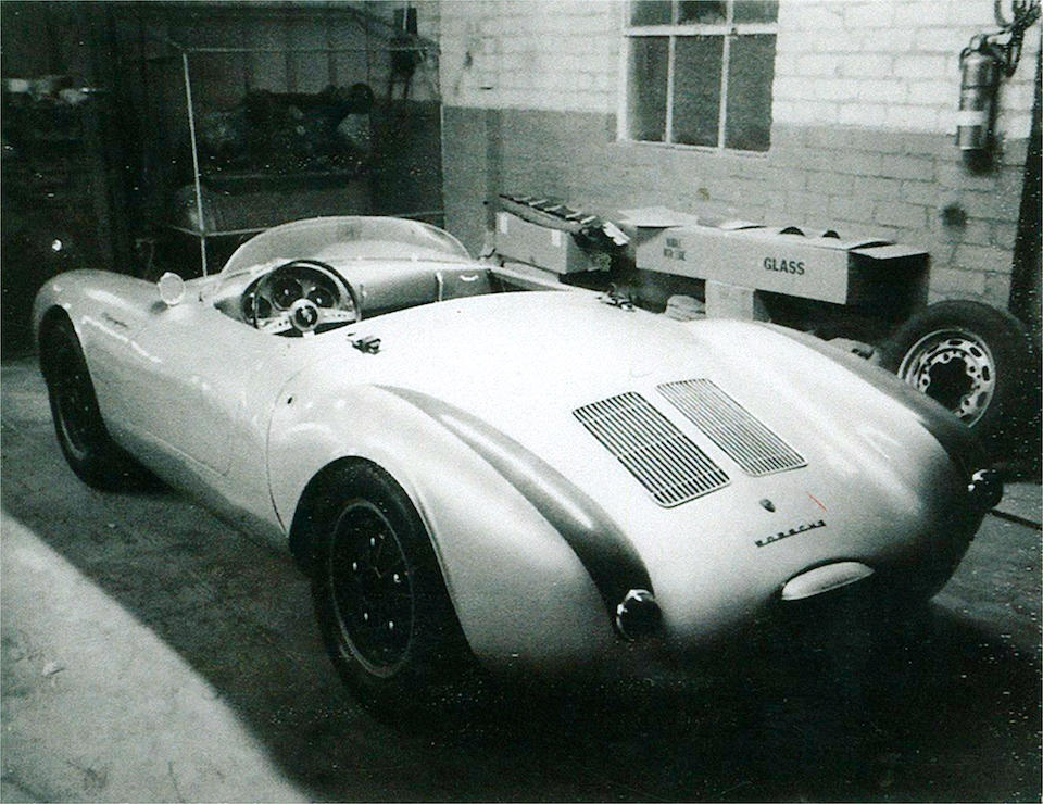 The Ex-Willett Brown, Vasek Polak, Fred Sebald, Richard A. Barbour, George Reilly,1956 Porsche 1.5-litre TYP 550/1500 Rennsport Syder Sports-Racing Two-Seater  Chassis no. 550-0090
