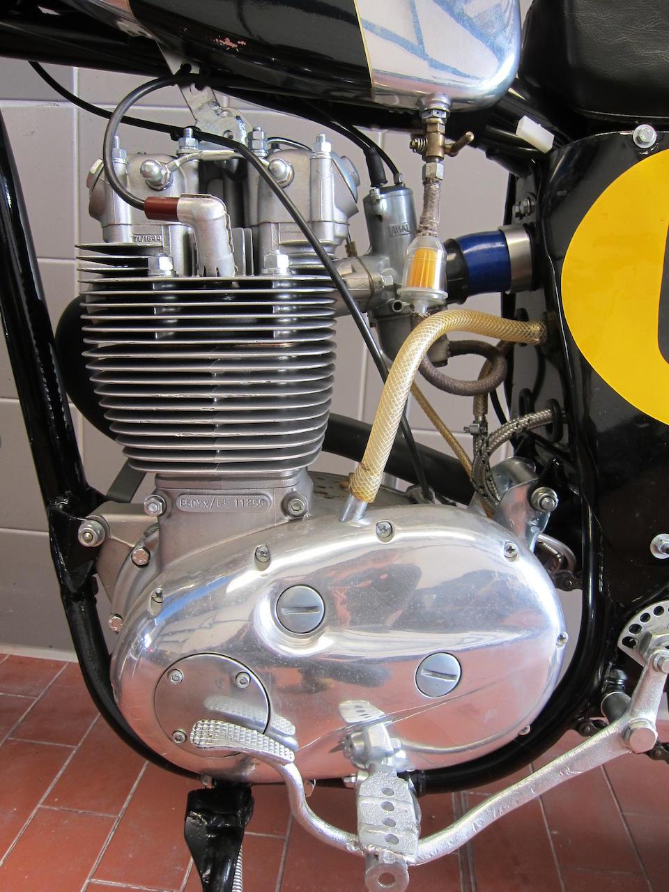 c.1971  BSA 500cc B50 MX Frame no. B50MXEE11255 Engine no. B50MX/EE 11255