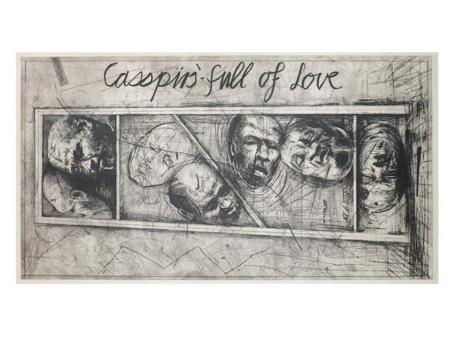 William Joseph Kentridge (South African, born 1955) Casspirs Full of Love