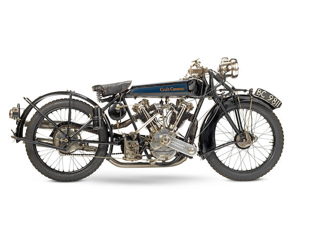 1924 Croft-Cameron 996cc Super Eight Frame no. 145 Engine no. MC8 499