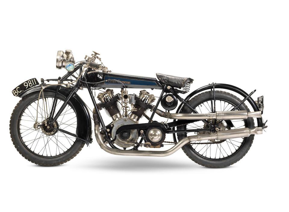 1924 Croft-Cameron 996cc Super Eight Frame no. 145 Engine no. MC8 499