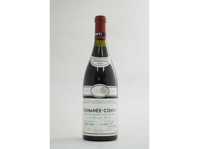 Romanée-Conti 1988, Domaine de la Romanée-Conti (1)