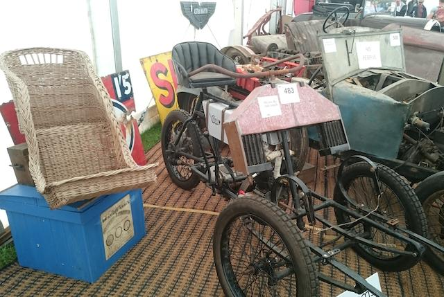 1904 Garrard Suspended Forecar Project  Chassis no. to be advised
