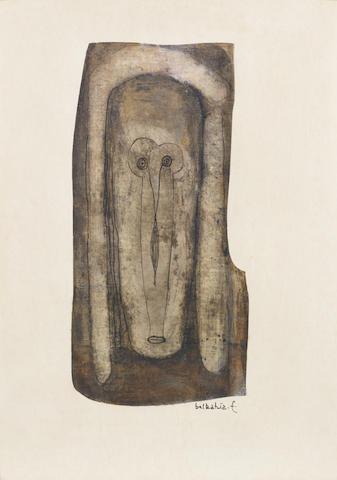 Farid Belkahia (Morocco, born 1934) Mask