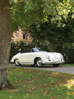 Believed the only one delivered new to Belgium,1955  Porsche  356 'Pre-A' 1600 Speedster  Chassis no. 80926 Engine no. P 60 004