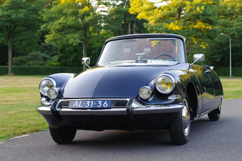 1964 Citroën  DS 19 Décapotable  Chassis no. 4272091